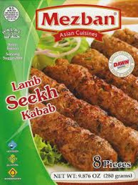 Mezban Lamb Seekh Kabab