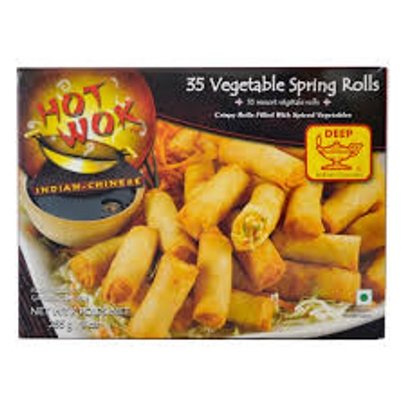 Hot Wok Veg Spring Roll 9oz