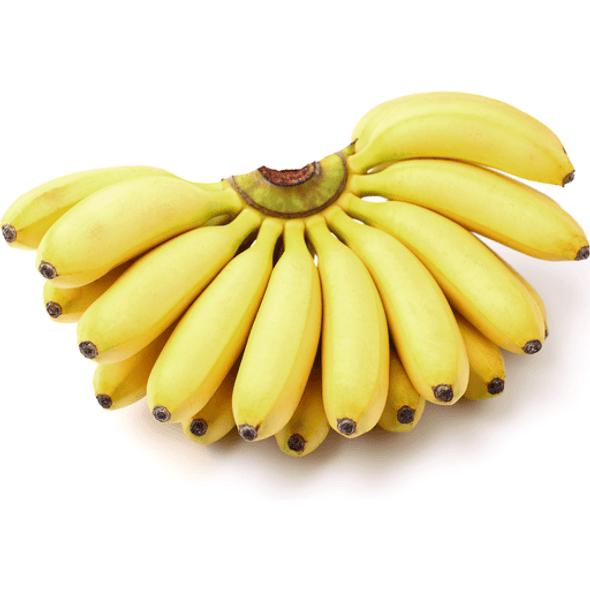 Manzano Banana (per lb)