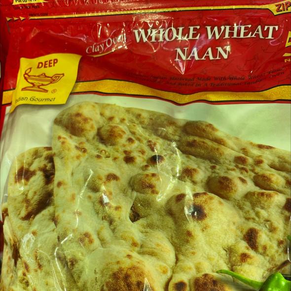 Deep Frz Whole Wheat Naan 5pc