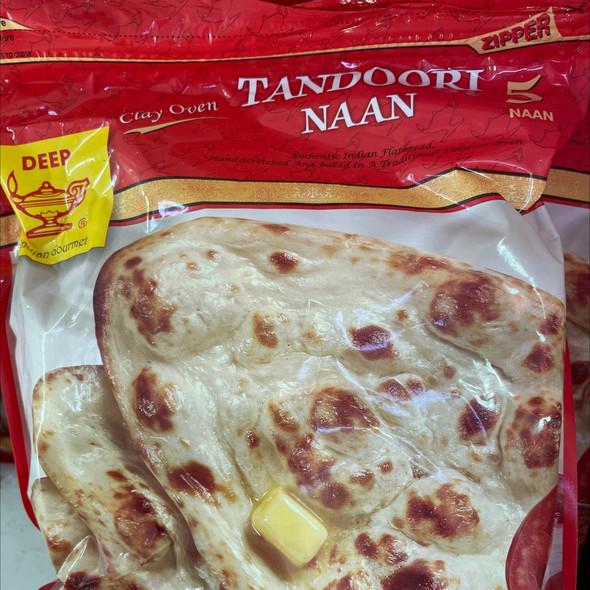 Deep Frz Tandoori Naan 5pc