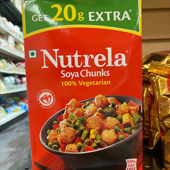 Nutrela Ruchi Soya Chunks 200g