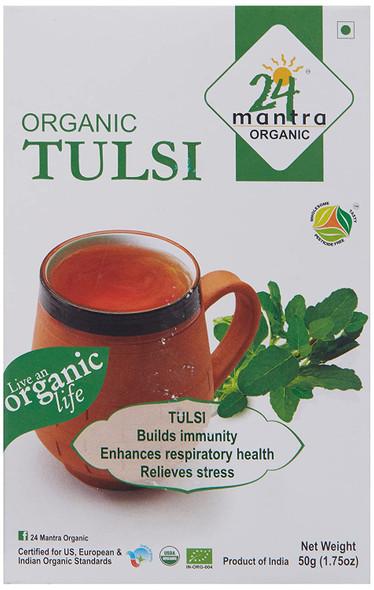 24 Mantra Tulsi Tea Bags 25TB