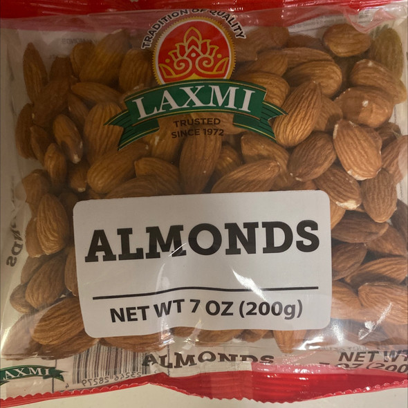Laxmi Almonds 7oz
