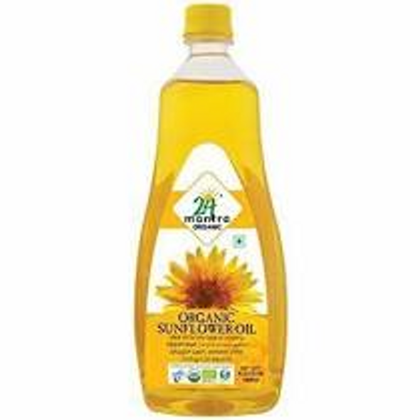 24 Mantra Sunflower Oil 1L