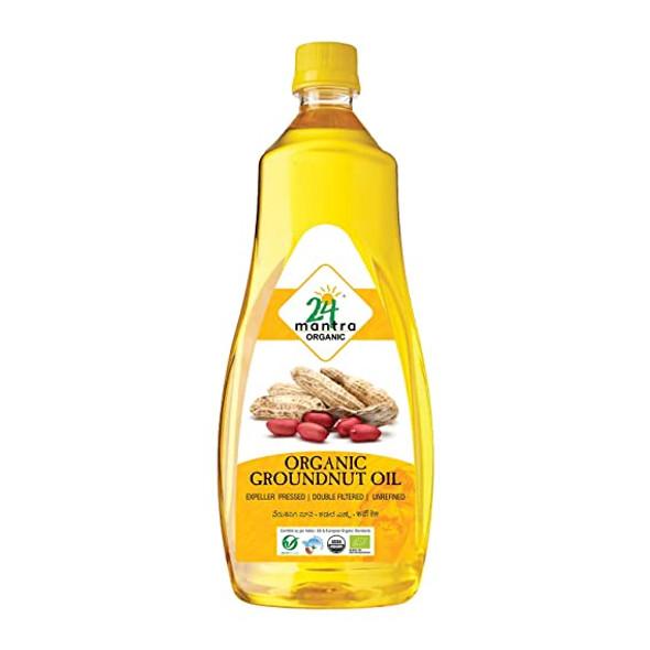 24 Mantra Peanut Oil 1L