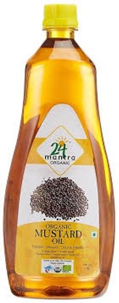 24 Mantra Mustard Oil 1L
