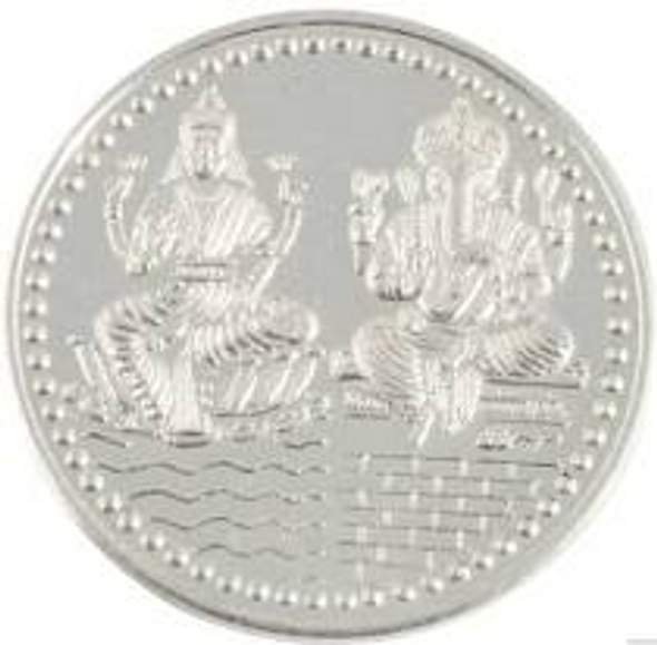 Ganesh/Lakshmi Silver Coin 5g