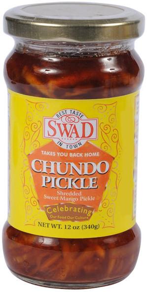 Swad Pkl Mango Chundo 550g