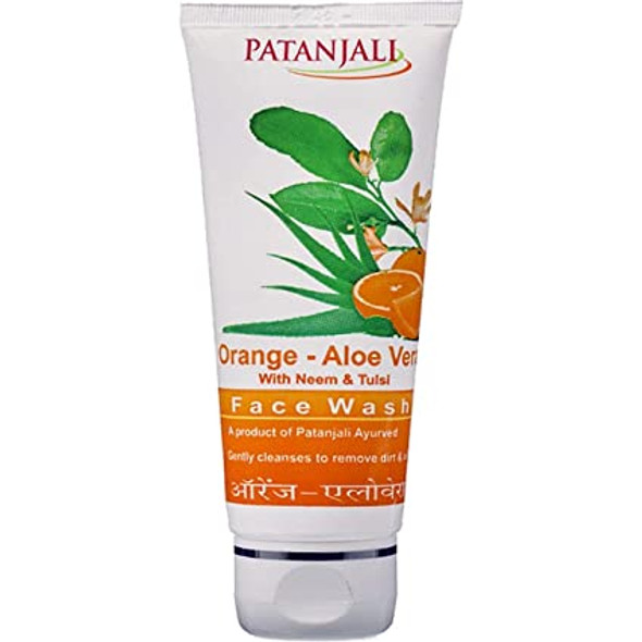 Patanjali Orange Aloe Face Wash