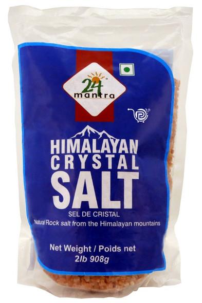 24 Mantra Himalayan Salt 2.2lb