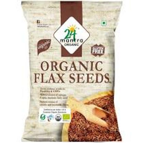 24 Mantra Flax Seed 7oz