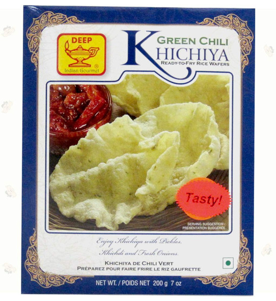 Deep Kichiya Grn Chilli 7oz