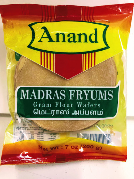 Anand Madras Appalam 200g