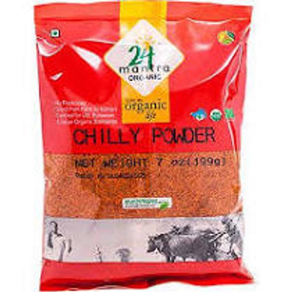 24 Mantra Chilli Powder 3.5oz