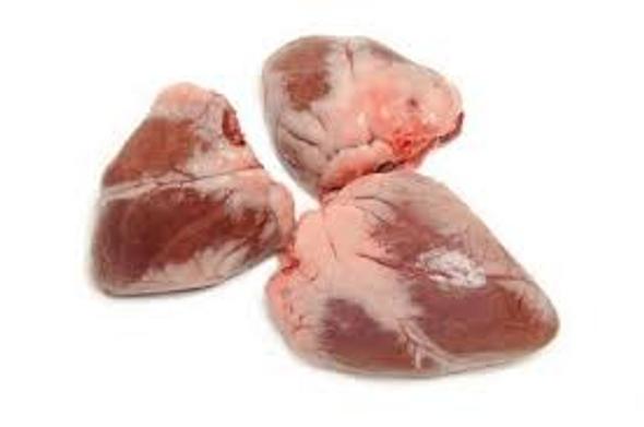 Fresh Halal Goat Heart (per lb)