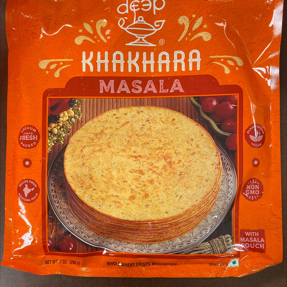 Deep Khakhra - Masala 7oz