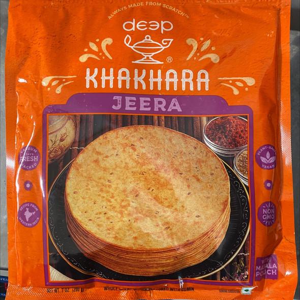 Deep Khakhra - Jeera 7oz