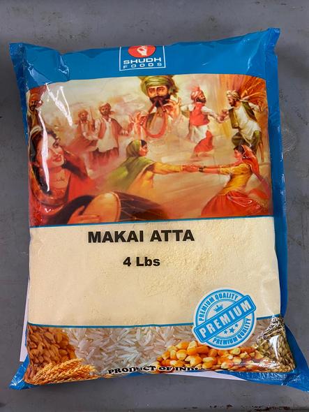 Shudh Makai Flour 4lb