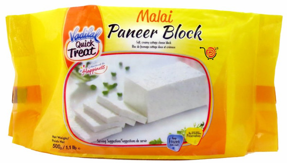 Vadilal Malai Paneer Block 500g