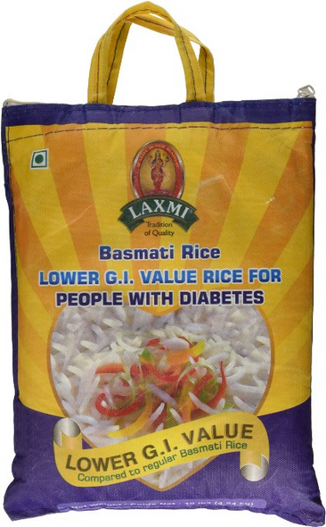 Laxmi Diabetic Basmati Rice 10lb