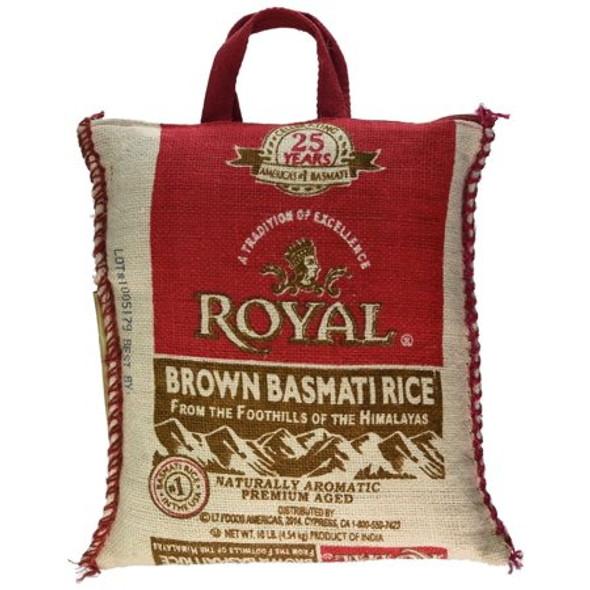 Royal Brown Basmati 10lb