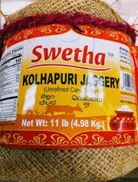 Swetha Kolhapuri Jaggery 11lb