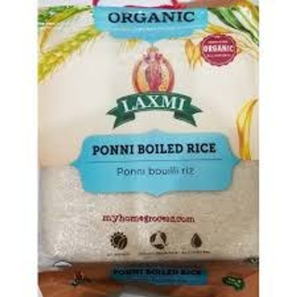 Laxmi Organic Ponni Boiled Rice 10lb