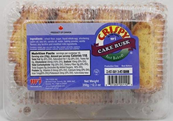 Crispy Cake Rusk 12.3oz