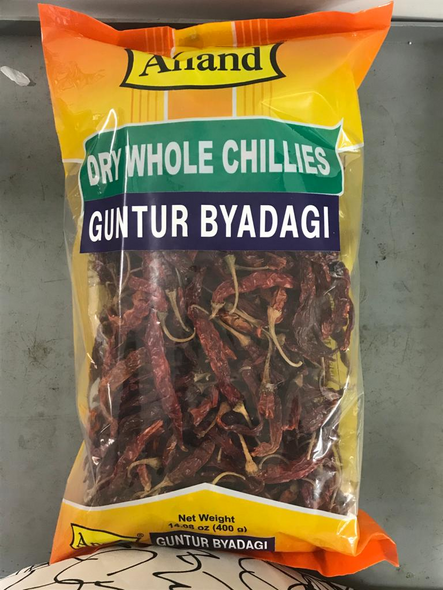 Red Chilli Whole Byadgi 400g - Anand