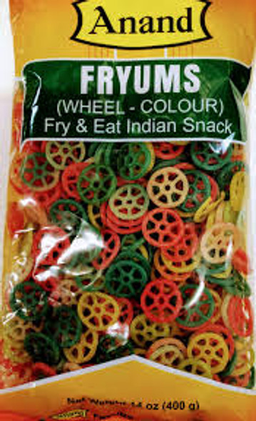Anand Wheel Fryums - Color 400g