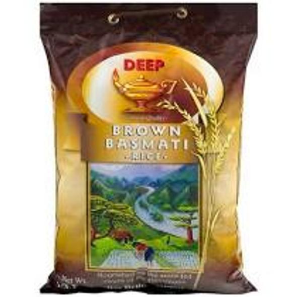 Deep Brown Basmati Rice 10lb