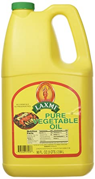 Laxmi Vegetable Oil 96oz