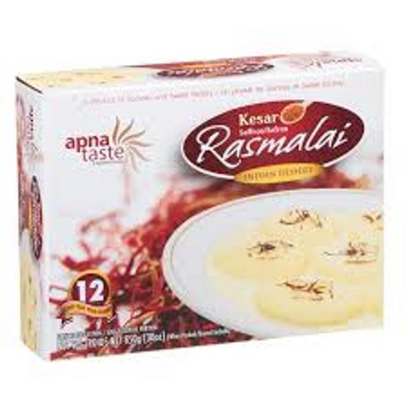 Apna Taste Kesar Rasmalai 850g