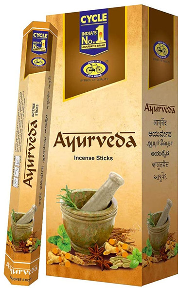 Agarbathi Cycle - Ayurveda (6 Pack)