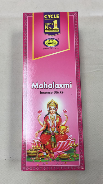 Agarbathi Cycle - Mahalaxmi (6 Pack)
