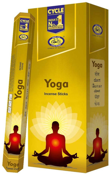 Agarbathi Cycle - Yoga (6 Pack)