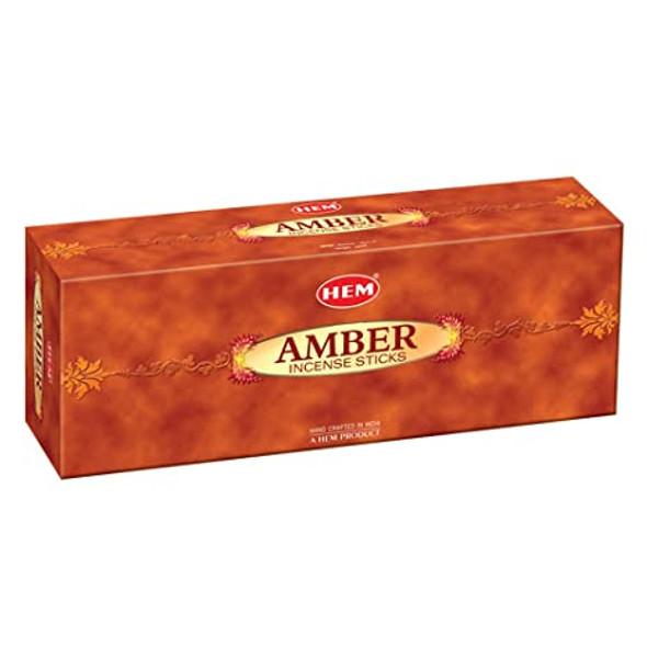 Agarbathi HEM - Amber (6 Pack)