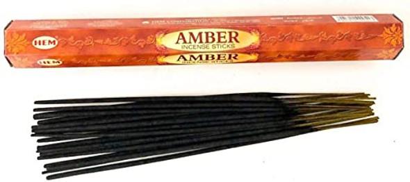 Agarbathi HEM - Amber (20 Sticks)