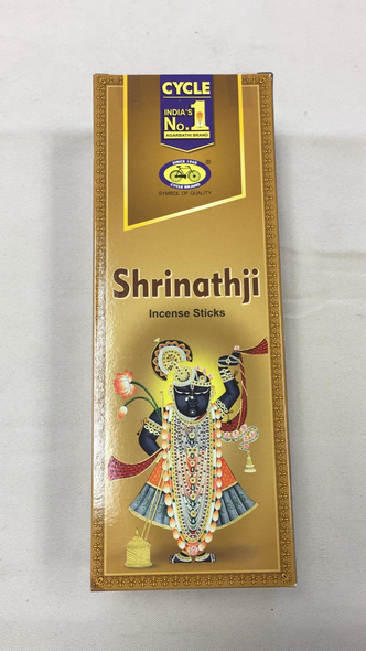 Agarbathi Cycle - Shrinathji (6 Pack)