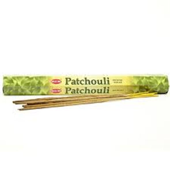 Agarbathi HEM - Patchouli (6 Pack)