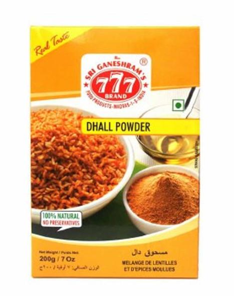 777 Spiced Dhall Powder 165g