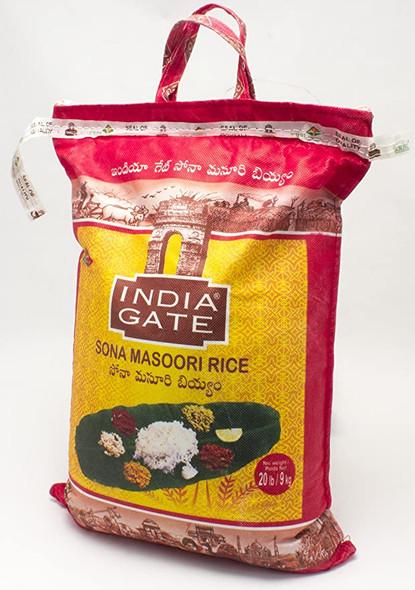India Gate Sona Masoori 20lb