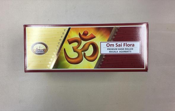 Masala Agarbathi Grain Market - Om Sai Flora (12 Pack)