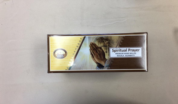 Masala Agarbathi Grain Market - Spritual Prayer (12 Pack)