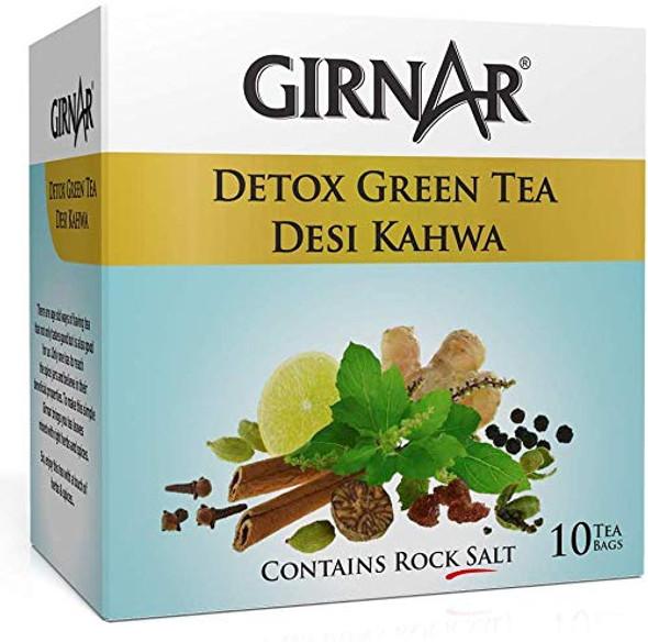 Girnar Detox Green Tea Bag 10ct