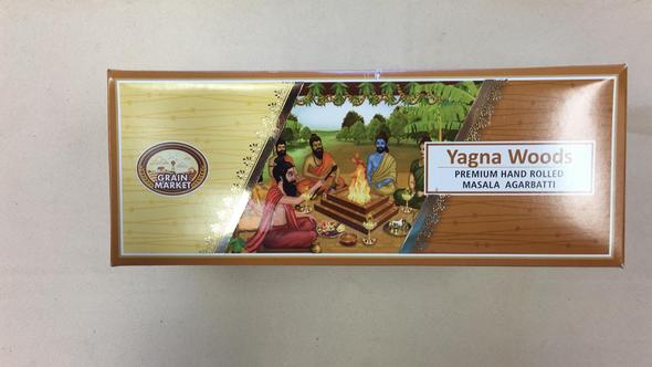 Masala Agarbathi Grain Market - Yagna Woods (12 Pack)