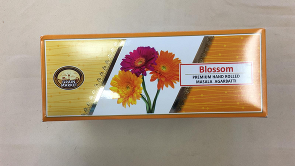 Masala Agarbathi Grain Market - Blossom (12 Pack)