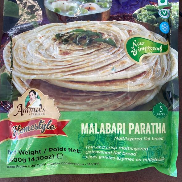 Amma's Kitchen Malabar Parotta 5pc