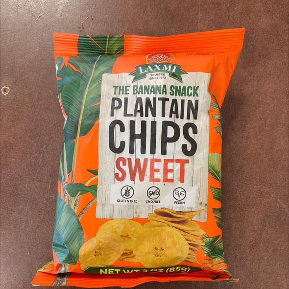 Laxmi Plantain Chips Sweet 85g